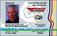 DSV Card (Muster)